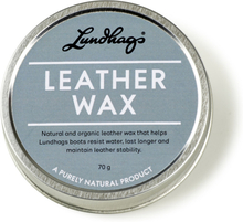Lundhags Leather Wax 2019 Onesize Skovård