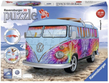 3D Puzzle - Volkswagen Bus Indian Sum Puzzle 3D