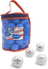 Second Chance 50 Balls Bag Golfpallot WHITE
