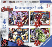 The Avengers Puzzle 4in1