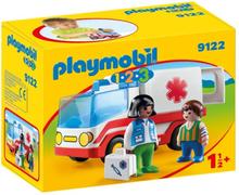 Playmobil 1.2.3 9122, Räddningsambulans