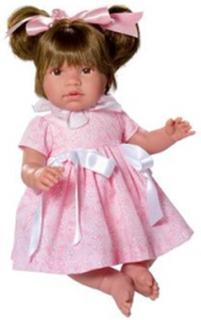 Asi, Docka - Noor med rosa klänning 46 cm
