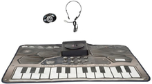 Stage, DJ matta med headset