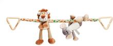 Teddykompaniet, Diinglisar Wild, Vagnhänge, Lejon & Elefant