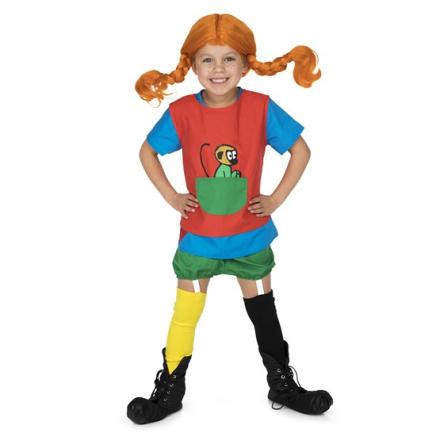 Pippi Långstrump Pippi, Kläder 2-4 år