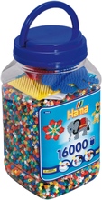 Hama, Midi Pärlor 16000 Mix Blå