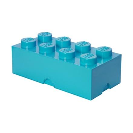 LEGO, Förvaringsbox 8, medium azur