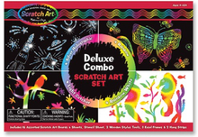Melissa & Doug, Scratch Art, Deluxe Combo Set