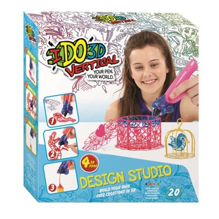 IDO3D, Vertical, Rita i 3D, Design studio Cute Creations