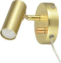 Oriva Vägglampa Mini GU10-Mässing