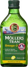 Möllers Tran mit Zitrusgeschmack 250 ml