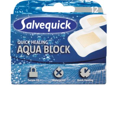 Salvequick Wasserfeste Pflaster Schnelle Heilung 12 stk