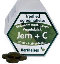 Berthelsen Eisen 27 mg + Vitamin-C Pflanzlich 90 stk