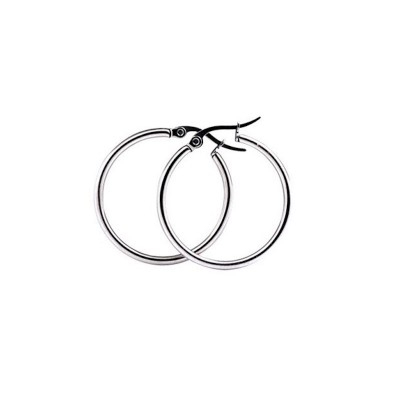 Everneed Mille Small Hoop Silber 15 mm