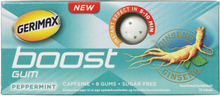 Gerimax Instant Boost Energy Gum Peppermint 8 stk