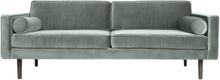 Wind 3-sits soffa chinos green (grön)