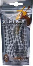 XTENEX Sport Laces 75cm silver 2019 Skotillbehör