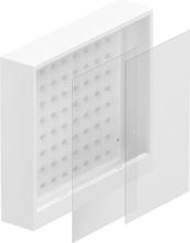 Uponor Aqua Plus FS B Fördelarskåp 550 x 500 x 108 mm