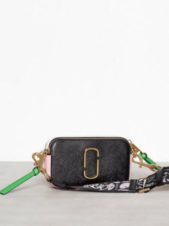 Vesker med skulderreim - Black/Pink Marc Jacobs Snapshot Bag