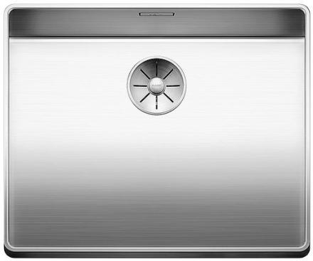 Blanco Attika XL 60 UXI Køkkenvask 52x42 cm m/InFino kurveventil, Rustfrit stål