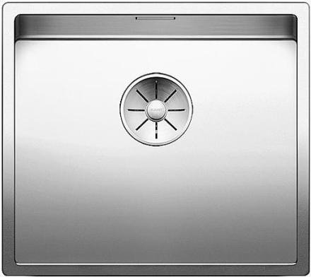 Blanco Claron 450-IF/N UXI Køkkenvask 49x44 cm m/InFino kurveventil, Rustfrit stål