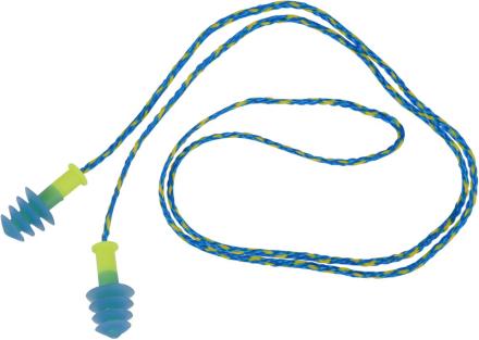 NRS Mack's Ear Seals gul/blå 2018 Tilbehør til gummibåde
