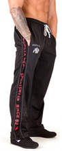 Functional mesh housut, musta/punainen