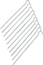 CAMPZ Steel Ground Peg 25cm Straight 2021 Tältlinor, Tältpinnar & Tälttillbehör