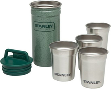 Stanley Adventure SS Shot Glass Set hammertone green 2019 Koppar & Muggar