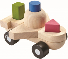 Stapelbart pussel - flygplan (Plan Toys)