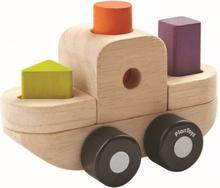 Stapelbart pussel - båt (Plan Toys)