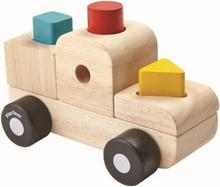 Stapelbart pussel - lastbil (Plan Toys)