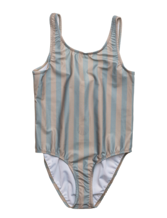 Classic Swimsuit Stripe Peach/Green - Boozt