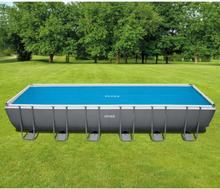 Intex solopvarmet poolovertræk rektangulær 732 x 366 cm