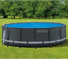 Intex Soldrevet bassengtrekk rundt 488 cm