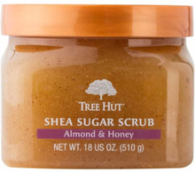 Tree Hut Shea Sugar Scrub Almond & Honey 510g