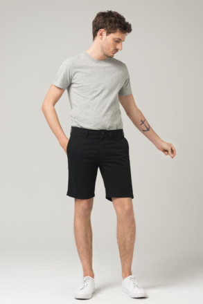 Crocker SVARTA CHINOS SHORTS PETER Man
