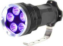 UV Ficklampa med 5x6 watt LED dioder