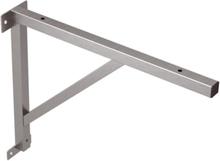 Konsol t/bordsskriva, rostfritt stål