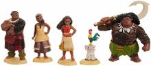 Disney Vaiana Moana Maui The Demigod Figurer Playset 6st