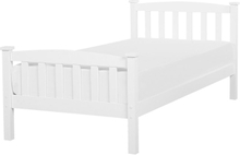 Sänky valkoinen 90 x 200 cm GIVERNY