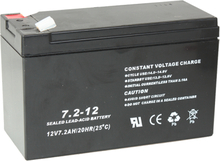 Ibiza 12V-7.2AH Battery for PORT8/8VHF/9VHF/10VHF/15VHF-BT