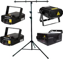 Ibiza Mega Laser bundle with fogmachine