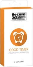 Secura: Good Timer, Kondomer, 12-pack