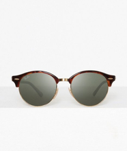 Ray Ban RB 4246 Clubround Brun