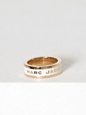 Ringer - Cream Marc Jacobs Band Ring
