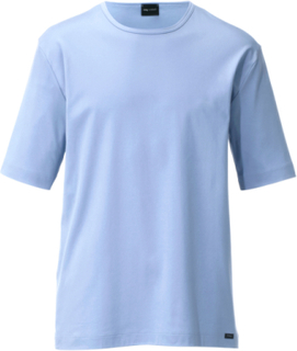 Kortärmad pyjamaströja från Mey blå