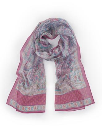 Tørklæde i 100% silke Fra Roeckl multicolor - Peter Hahn