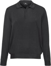 Tröja krage i 100% ren ny ull från Peter Hahn grå