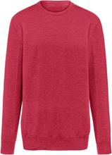 Rundhalsad tröja i 100% kashmir i Premium-kvalitet från Peter Hahn Cashmere röd